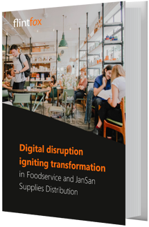 Digital disruption is igniting transformation in foodservice and jansan distribution